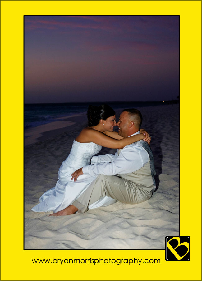Romantic Cuddling On The Beach Aruba