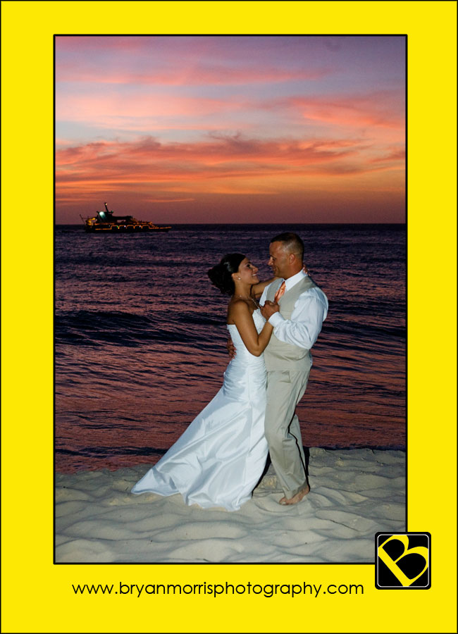 Romance On The Beach In Aruba