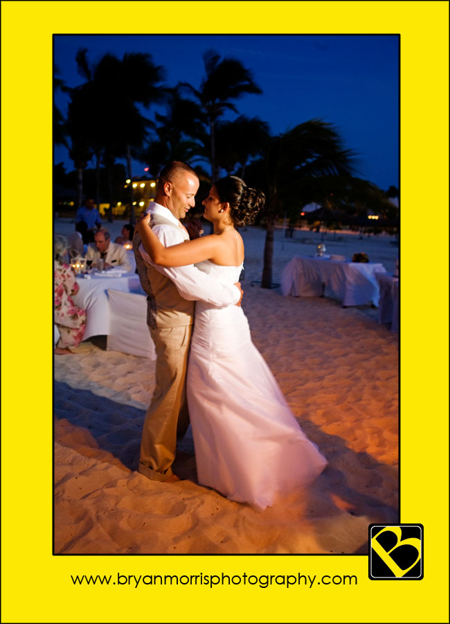 First Dance In Aruba
