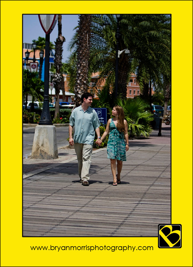 Romantic Stroll Through Downtown Oranjestad Aruba