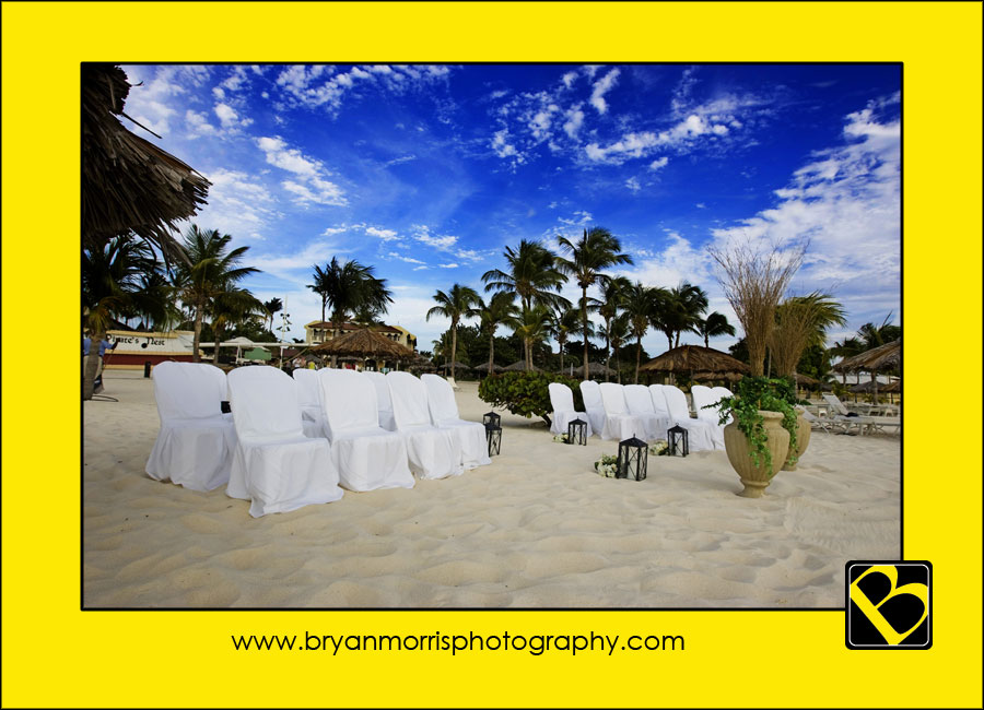 Wedding Setup Bucuti Beach Resort Aruba