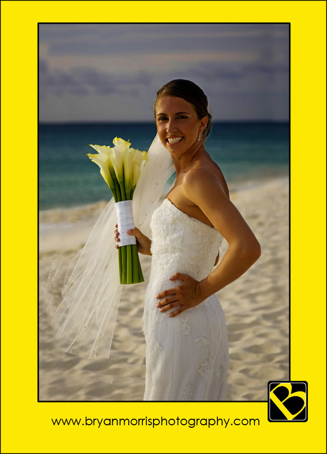 Bridal On Beach In Aruba