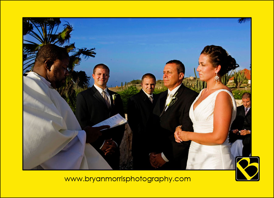 Wedding Ceremony At Tierra del Sol Aruba