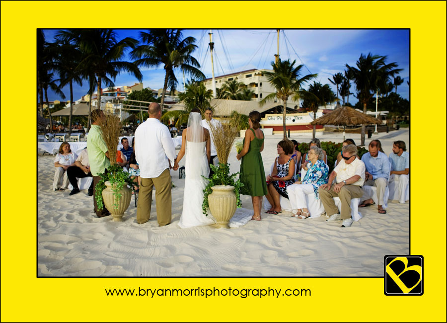 Wedding Ceremony At The Bucuti Beach Resort Aruba