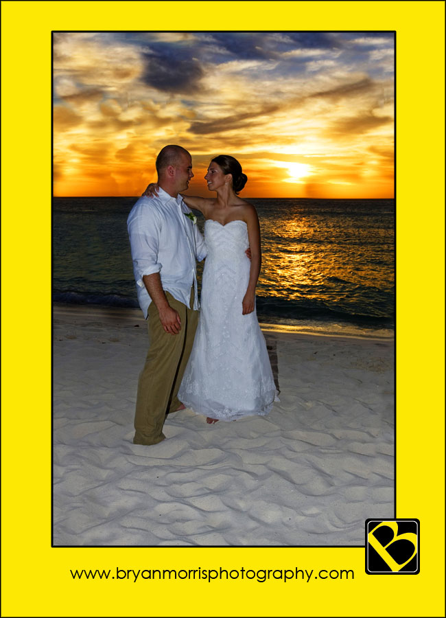 Romantic Portrait On Aruba