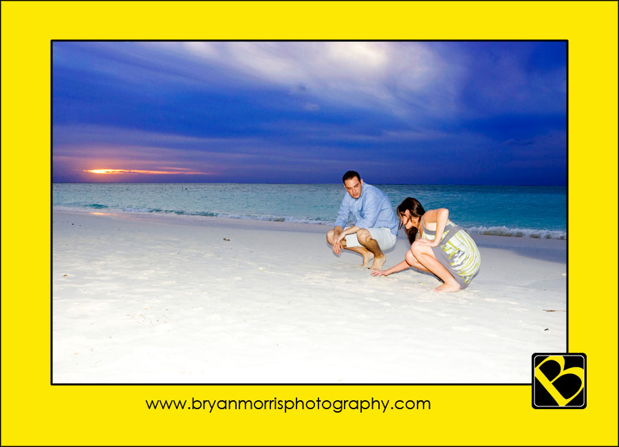 Official Proposal in the sand on Aruba